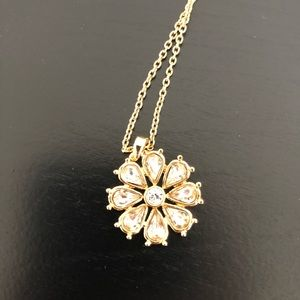 Kate Spade Flower Pendant Necklace